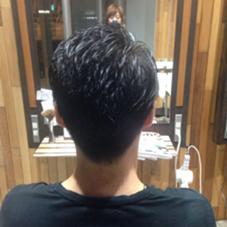 できる男風、ツヤショート! hair lounge ungu所属・MatsukiChihiroのスタイル