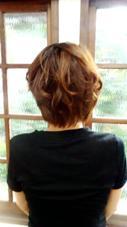 ゆるふあショート 髪結い処櫟所属・瀧島まやのスタイル