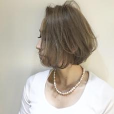 外国人風ダブルカラー ♡ FURUSHO所属・otsukaÜのスタイル