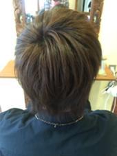 赤みの強かった髪をミルクティーアッシュに させていただきました!  #ダブルカラー#アッシュ ALBA   hair resort所属・福岡愛のスタイル