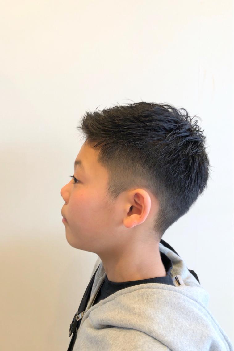 男子 髪型 小学生
