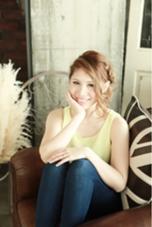 ルーズ編み込みスタイル Aju-r hair design所属・松浦英俊のスタイル