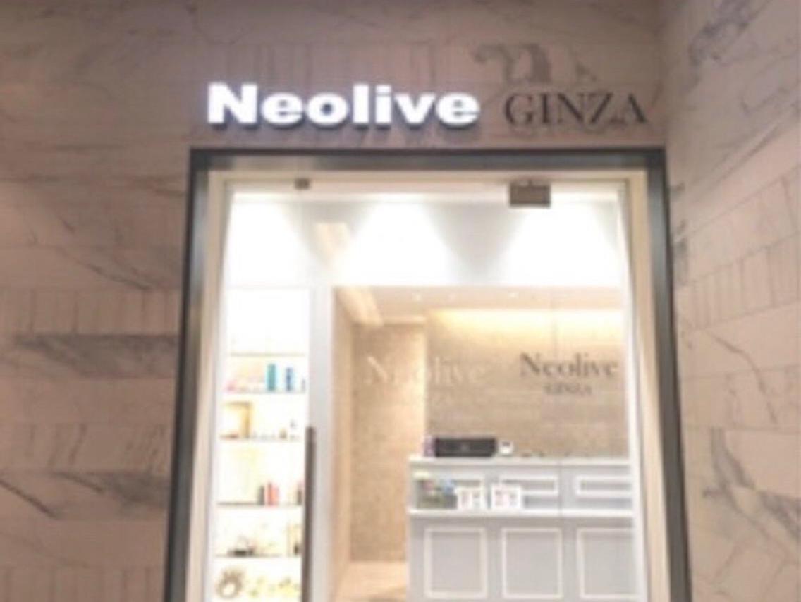 #マツエク・マツパ 🕊 Neolive GINZA 🕊     入り口の様子です🔜
