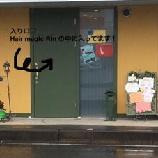 入り口♡Hair magic Rin の中に入ってます! ILARI所属・木山裕子のフォト