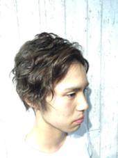 メンズパーマ  パーマカット ¥5775 ysのスタイル