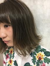 プラチナアッシュカラー IJK   OMOTESANDO所属・釼持恵梨香のスタイル