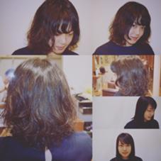 ミディアム✖︎パーマ✖︎ランダム✖︎朝ラク✖︎季節感✖︎顔まわりレイヤー✖︎強めセットOK✖︎やわらかセットOK HONDA PREMIER HAIR所属・かわさきともやのスタイル