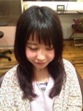 ななめバング HUG京急杉田駅前店所属・阿部優香のスタイル