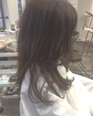 暗くても透明感のあるカラーです♡ hair  make beautiful所属・_yayoiのスタイル