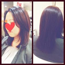 ロングレイヤー HAIR&MAKE seek所属・中村菜都美のスタイル