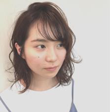 シースルーバング LACO hair&spa所属・岩崎こなつのスタイル