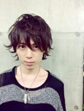 うざバングミディアムパーマ★ JUNES HARAJUKU所属・stylistいがらしももこのスタイル