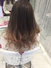 グレージュ✖️シルバーベージュ グラデーション HAIR & MAKE EARTH  金山店所属・RYO-のスタイル