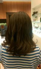 パーマ・デジタルパーマ ゆるめ・ふんわり mazele hair 所属・今村響祐のスタイル