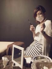 私です(^^)笑 men's eyebrowsalon 〜vivi〜所属・松本佑子のスタイル