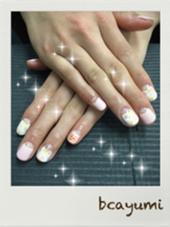 やっぱり人気者。 たらしこみネイル beauty salon haru ネイル所属・ネイリストAYUMI❤のフォト