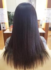 ジュネス酸性ストレート!  ゴワゴワだった毛も、しっかりさらツヤ☆ ing's hair(イングスヘアー)所属・日谷真奈美のスタイル