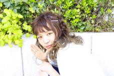 前髪に動きを持ってきて ヘアピンで、キュートに! @アレンジ SUPRAM所属・浅野智美のスタイル