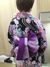 浴衣の帯*リボン結び bijou所属・松下琴美のスタイル