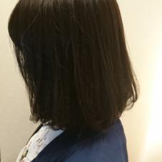簡単内巻きボブ 松本平太郎美容室 銀座Part4所属・中村彰秀のスタイル