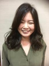 global   hair BALANCE所属・玄田沙織のスタイル