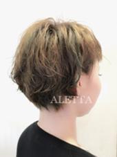 デザインカラー&パーマしてます♩ ALETTA HAIR PRODUCE(アレッタヘアプロデュース)所属・店長  高木美樹のスタイル