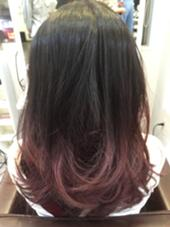 ピンクラベンダーグラデーション hair salon dot. tokyo所属・カヤノトシノリのスタイル
