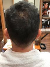 刈り上げスタイル mu;d&latte所属・金子英治のスタイル