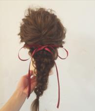 結婚式や卒業式に。。アレンジも大好き、大得意ですみんなとはちょっとちがうおしゃ髪に、しましょ〜〜 hair  make beautiful所属・_yayoiのスタイル