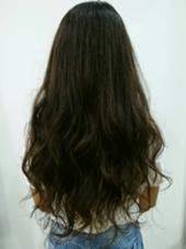 外国人風3Dカラー ハイライトとローライトで動きのある可愛いスタイル☆ HAIR&MAKE POSH 葛西店所属・沼田知美のスタイル
