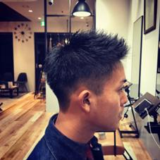 加藤重実のメンズヘアスタイル・髪型