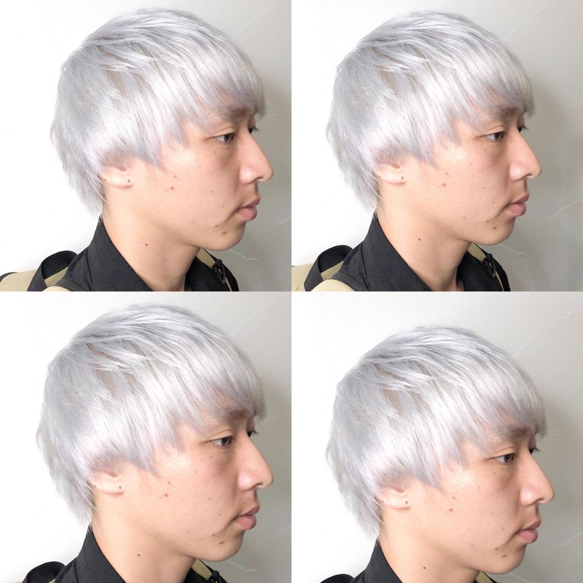 #ミディアム #カラー ・White silver・ ✳︎11000円〜✳︎ ✳︎minaでブリーチ3〜5回出来れば綺麗なホワイトヘアを作れます👻 ✳︎ ✳︎ダメージが強いとブリーチが出来ない場合もあるのでご了承ください ✳︎ムラシャンはエンシェールズのシャンプーを薄めて使うのがオススメ🧖🏻♀️ ✳︎ ✳︎黒染めや縮毛、デジパをしていなくてダメージがひどくなければおおよそ4〜5回ブリーチで出来ます🦄✳︎ 最後まで可愛く仕上げます🇰🇷 ✳︎ お店の近くにあるティファニーカフェで映えな写真もプレゼントします🦄 ✳︎ ✳︎黒染め履歴、ダメージが強い方はでホワイトにはならないです💦  #原宿#ハイトーンカラー#シルバーカラー#ヘアカラー#ネイビーカラー#ホワイトカラー#ブロンドヘアー#アッシュ#ケアブリーチ#ブロンドカラー#派手髪#ラベンダーカラー#ミルクティーカラー#アッシュ#ミルクティーベージュ#ブルージュ#グレージュ#ピンクカラー#インナーカラー#ハイライトカラー#グラデーションカラー#bts#seventeen#twice ✳︎ ✳︎