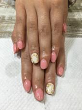 お客様☺︎ネイル✨シンプルアートコース nail所属・atelier02のフォト