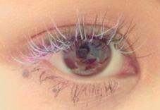 lavender pink blue black(0.12) 0.15mm 11mm Cカール ange wings×allys hair所属・西葉月のフォト