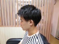 ツーブロックです!前髪は、あげるスタイルです! HairSalon   JEDI所属・阿部遥夏のスタイル