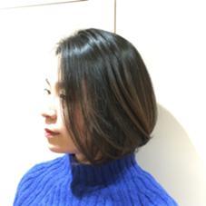 ボブ×バレイヤージュ mod's hair所属・SASAKISHOKOのスタイル