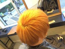 オンカラー前のブリーチカラー aile total bauty salon 梅田店所属・古沢貴史のスタイル