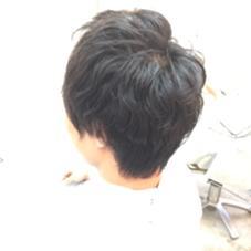 メンズパーマ cobaco.所属・西尾聡のスタイル