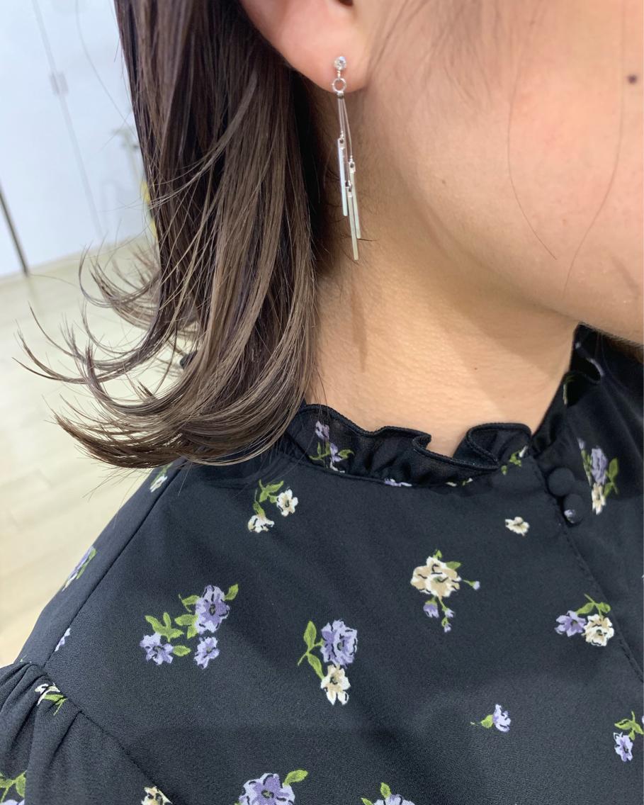 #ショート #カラー earring color✨