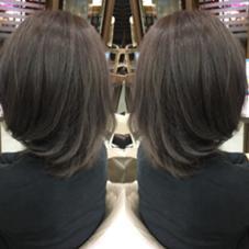 bleach×color Hair Make Ash所属・寺内紳悟のスタイル