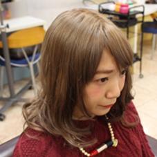 ミルクティーベージュ  髪を柔らかく見せてくれて透け感を演出してくれるベージュは女の子の憧れ(^O^)  ハイライトやグラデーションを組み合わせて外国人風に仕上げても◎ 松本平太郎美容室銀座パート3所属・中村 隼人トップカラーリストのスタイル