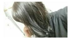 5Lv カーキグレージュ #寒色系#ハイライト LOREN所属・田中沙季のスタイル