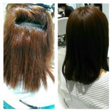 美革ストレートで艶髪に RITA by realme所属・RITA by Realmeのスタイル