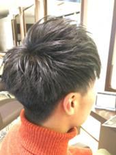 伊藤元気のメンズヘアスタイル・髪型