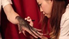 タトゥーメイクも流行ってます!٩(*>▽<*)۶ Beauty  Bar所属・柳澤のスタイル