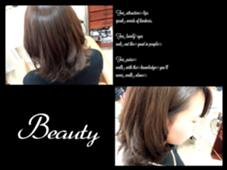 プラチナカラーで艶っぽく☆☆ hair&make chouchou所属・米澤澄絵のスタイル