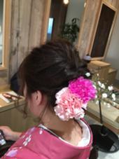 卒業式 Hair  Desing Glanz所属・國分佳輝のスタイル