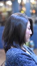 ✨ツヤ髪ブルーアッシュ✨ 暗めでもしっかりアッシュ!  ツヤのある落ち着いた大人のツヤ髪を!  通常カラー6000円 ミニモ限定なんと税込4000円!シャンプーブロー込み、   T:Luck所属・伊藤聡司のスタイル