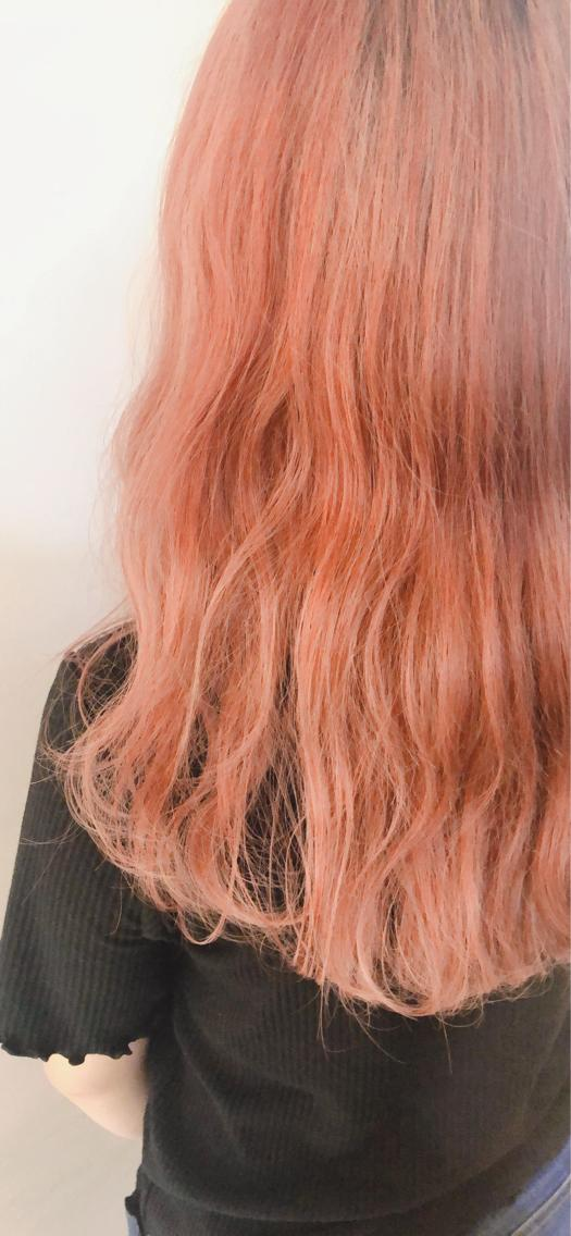#ロング #カラー Color 【 オレンジ 🍊】