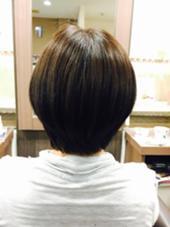 白髪染め&カット!  齋藤咲奈恵のスタイル